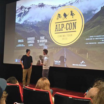 Alp-Con CinemaTour 2015 Impressionen der Filmpremieren in Innsbruck, Metropol Kino